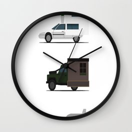 Motorhome challenge Wall Clock