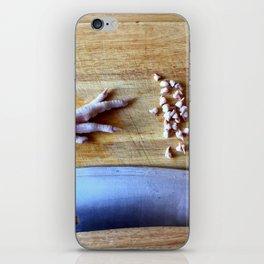 Chicken Feet iPhone Skin