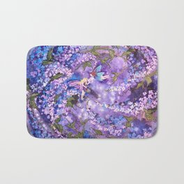Whispers in the Lilacs Bath Mat