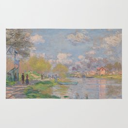Spring by the Seine Rug