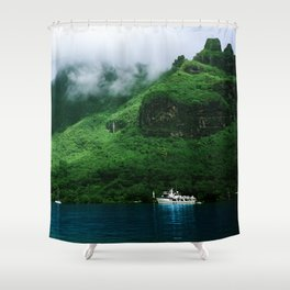 Moorea Cove Shower Curtain