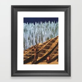 Where should we go to? Framed Art Print