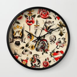 Days of old Wall Clock