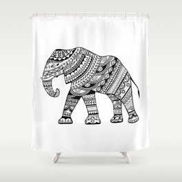 Ethnical patterns Shower Curtain