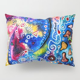 """Strange In Space"" Pillow Sham"