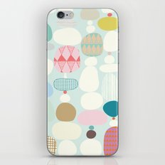 Stepping Stones iPhone & iPod Skin