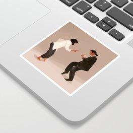 Pulp Fiction Twist Sticker
