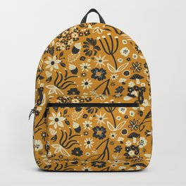 Freestyle Fall Floral in Ochre Backpack