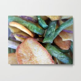VEGGIE CHIPS Metal Print