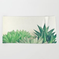 Succulent Forest Beach Towel