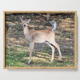Fall Fawn Serving Tray