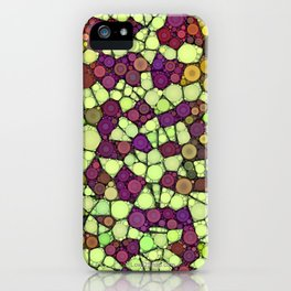 Stained Glass Jewels iPhone Case