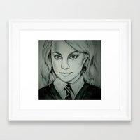 luna lovegood Framed Art Prints featuring Luna Lovegood by Rosie Smith