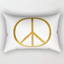 P E A C E - Symbol Rectangular Pillow