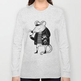 Rat Ship Long Sleeve T-shirt