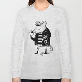 Rat Ship Long Sleeve T-shirt