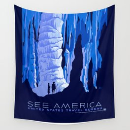 See America - Vintage 1930's US Travel Advertisement  Wall Tapestry