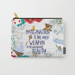 Alice in Wonderland - Imagination Carry-All Pouch