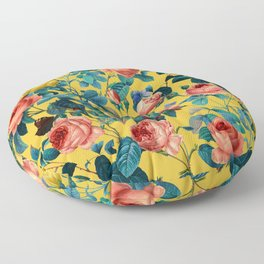 Summer Botanical Garden X Floor Pillow