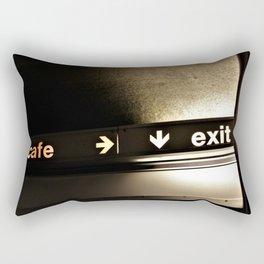 Cafe/Exit Rectangular Pillow