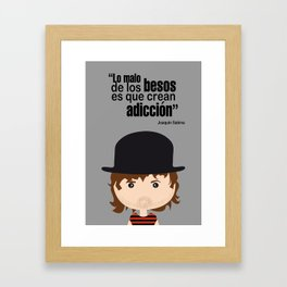 Joaquin Sabina Framed Art Print