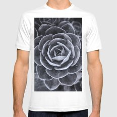 Something Out There MEDIUM White Mens Fitted Tee