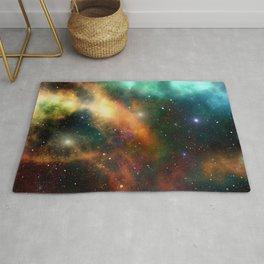 Universe Cosmos Nebula Colorful Pattern Space Stars Rug