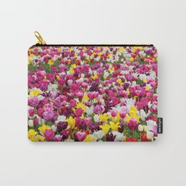 Collection of different tulips in Holland Carry-All Pouch