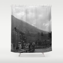 Nikkō mountain 002 Shower Curtain