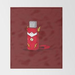 The Flash Throw Blanket