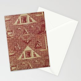 Oberkampf Manufactory The Monuments of Egypt Stationery Cards