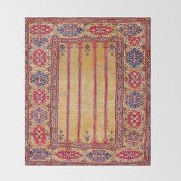Ladik Central Anatolian Column Rug Throw Blanket