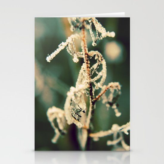 A Touch of Frost Stationery Cards