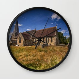 St Andrew and St Mary The Virgin Fletching Wall Clock