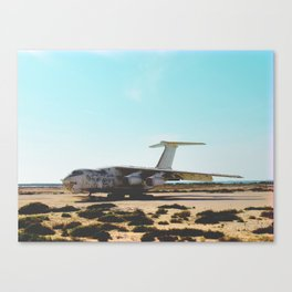 UAE Plane Canvas Print