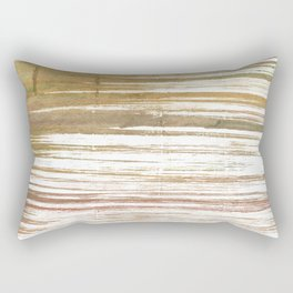 Light taupe abstract watercolor Rectangular Pillow