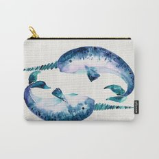 Blue Narwhals Carry-All Pouch