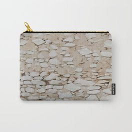 Stone Wall Pattern Carry-All Pouch