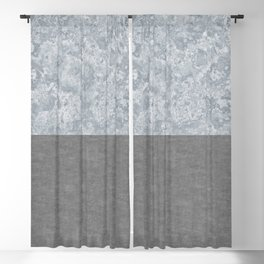 Concrete and Marble Blackout Curtain