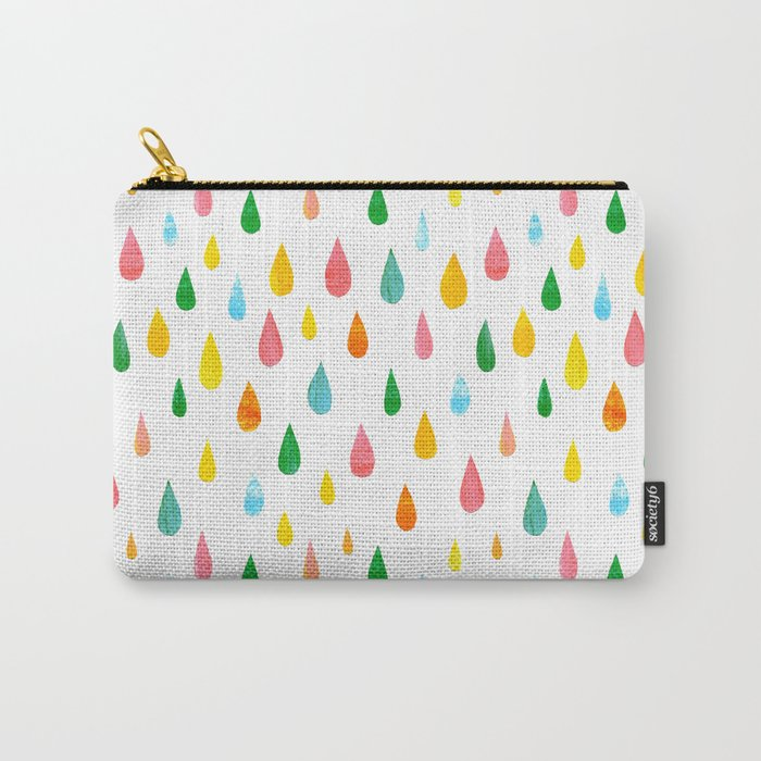 Happy Rain Carry-All Pouch