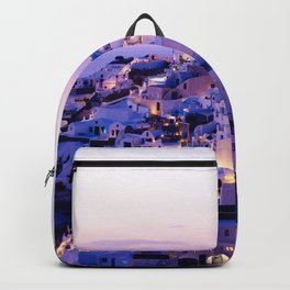 Santorini Night Backpack