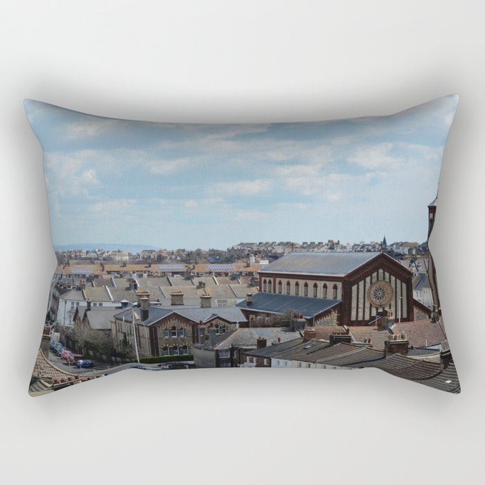 Eastbourne Skyline Rectangular Pillow