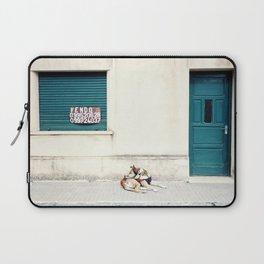 Street dog in Uruguay Laptop Sleeve
