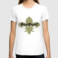 resident evil T-shirts featuring Resident by anto harjo
