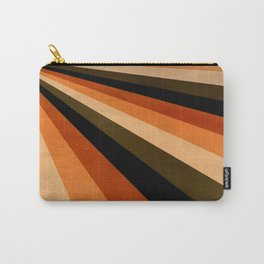 Autumn Stripes Carry-All Pouch