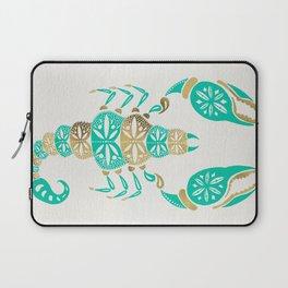 Scorpion – Turquoise & Gold Laptop Sleeve