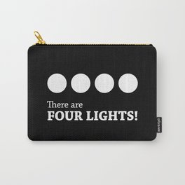 There are FOUR LIGHTS! Dark Version Carry-All Pouch