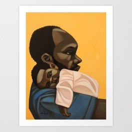 bonded Art Print