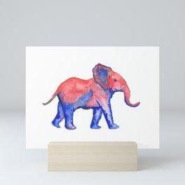 Les Animaux: Baby African Elephant Mini Art Print