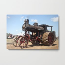 Antique Avery Tractor Metal Print